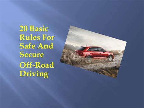 Garcia Obat Kutil 20 basic for safe and secure road driving