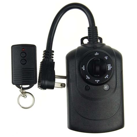 defiant outdoor light sensing timer defiant 15 in light sensing timer with