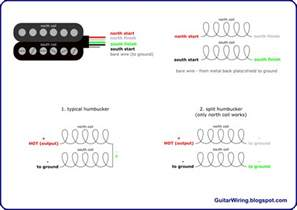 the guitar wiring diagrams and tips 4 conductor humbucker connections
