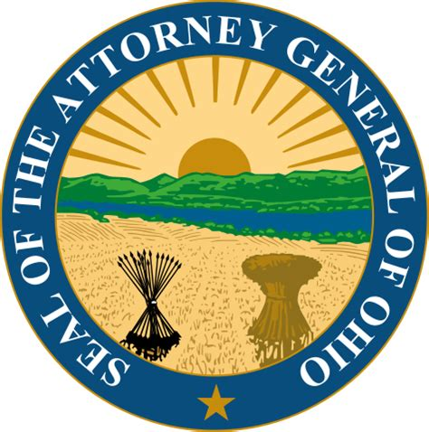 office of the ohio attorney general collections enforcement section file seal of the attorney general of ohio svg wikipedia