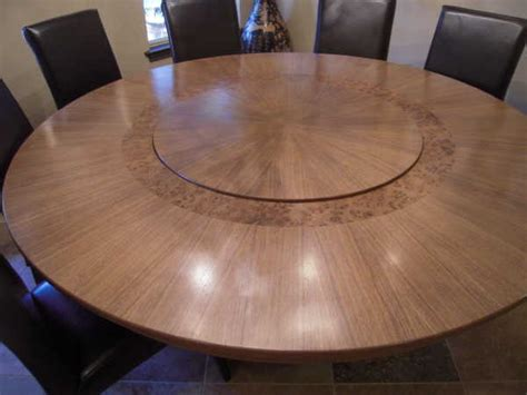 large dining room table with lazy susan dining tables at plesums com wood