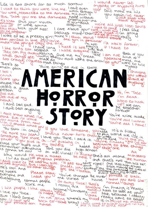 american horror story quote americanhorrorstory quote quotes from american horror story quotesgram