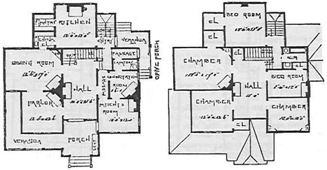 historic mansion floor plans and house