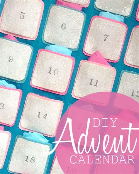 Oh My Handmade - diy glittery felt advent calendar oh my handmade