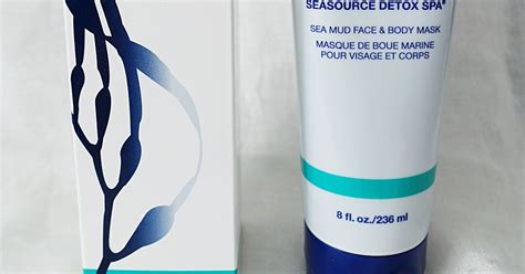 Detox Mask Arbonne by The Blushing Introvert Arbonne Seasource Detox Spa Mask