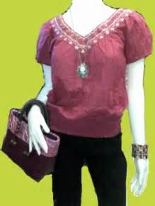 Blouse Blouse Batik Top Ribbon Side On Diskon alvic s batik blouses tops tunics alvic s batik atbp