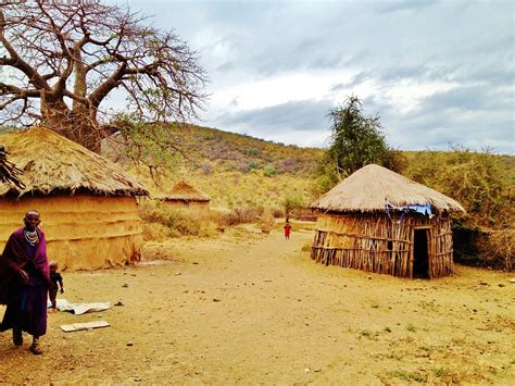 afrika haus kostenloses foto massai land tansania boma afrika