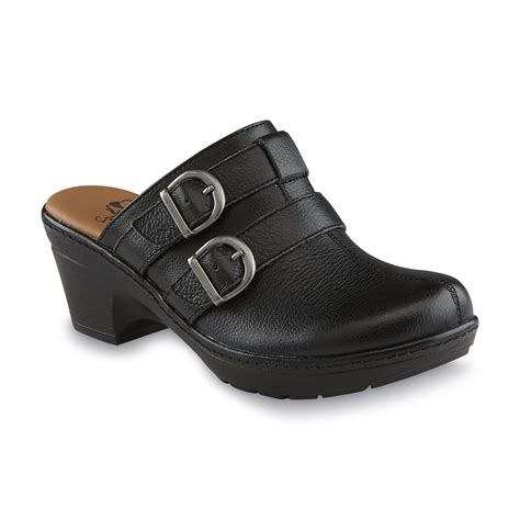 comfort shoes sears i love comfort women s cypress black mule clog clothing