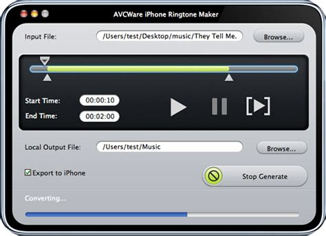 iphone ringtone maker for mac make iphone ringtones on mac