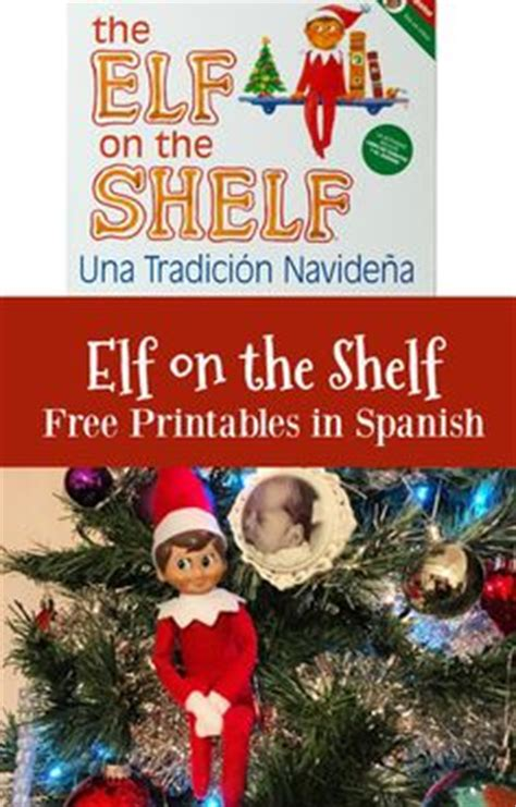 elf on the shelf printable instructions how to introduce elf on the shelf in spanish free letter