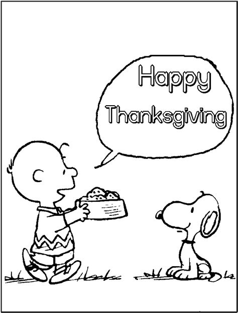 printable peanuts thanksgiving coloring pages free printable thanksgiving coloring pages for kids