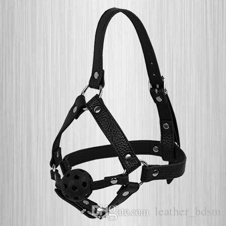 24219 Harness Hollow Sm black harness leather sm alternative stimulus