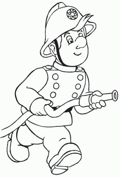 firemen coloring pages coloring pages