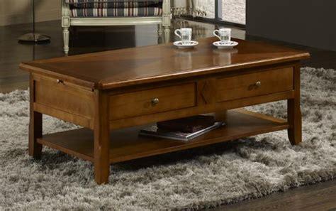 table chene blanchi 504 table basse flore en merisier de style louis philippe