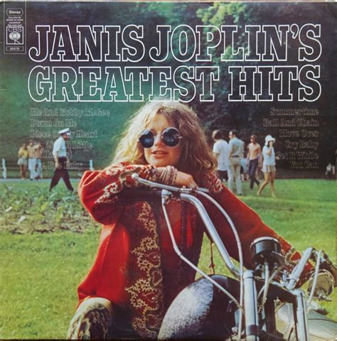 janis joplin janis joplins greatest hits vinyl lp compilation discogs