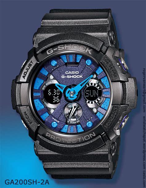 Gshock Line Black Gold metallic colors series g shock watches ga 200sh 1a ga