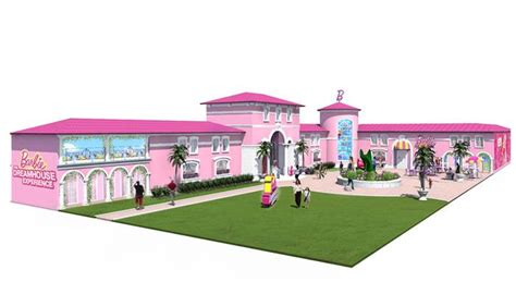real barbie doll house barbie s dreamhouse now life size reality in florida