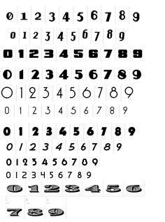 tattoo numbers generator number tattoo fonts on pinterest fonts for tattoos