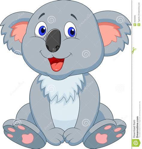 imagenes animadas koala cute koala cartoon royalty free stock photo image 33235605