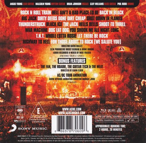 amazoncom acdc live at river plate blu ray acdc swingville acdc live at river plate 2012