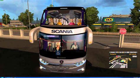 mod bus game euro truck simulator euro truck simulator 2 thailand modbus v4 map scandinavia