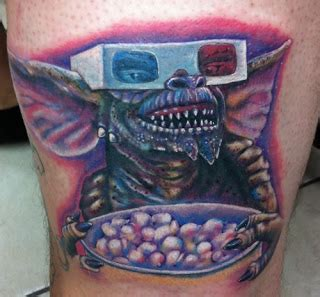 gremlin tattoo rad tats gremlins our inner struggle with and evil
