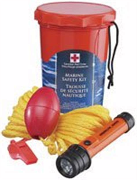 small boat safety kit boating safety canadian red cross