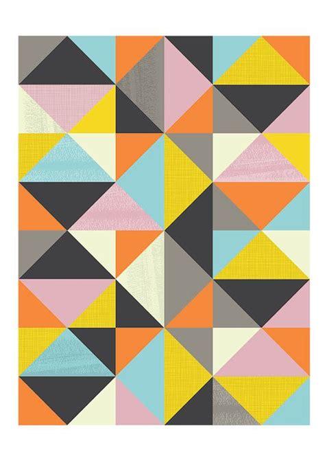 mid century geometric patterns geometric art harlequin retro poster mid century modern