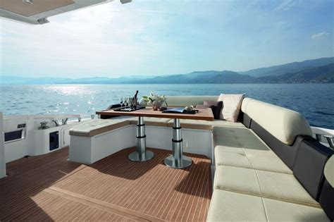 azimut  yacht exterior deck seatech marine products