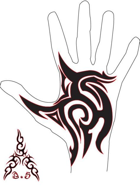 tribal tattoos on hands tribal by bfmv01 on deviantart henna
