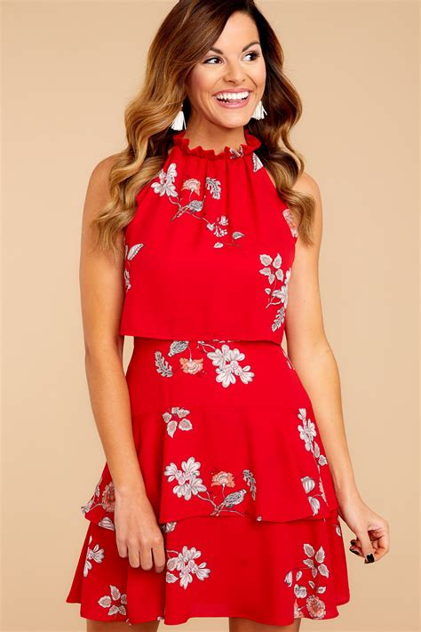 Printed Reds by Floral Print Dress Photo Album Best Fashion Trends And