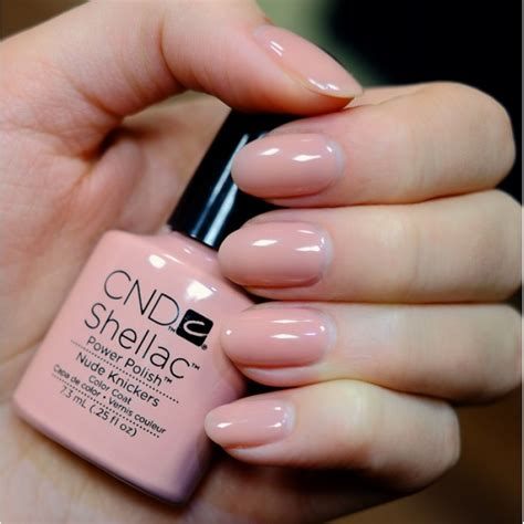 shellac nail polish light cnd shellac knickers intimates collection salon