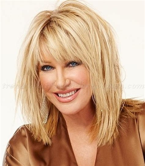 hairstyles for the over 50s uk suzanne somers layered haircut hairstyles for women over