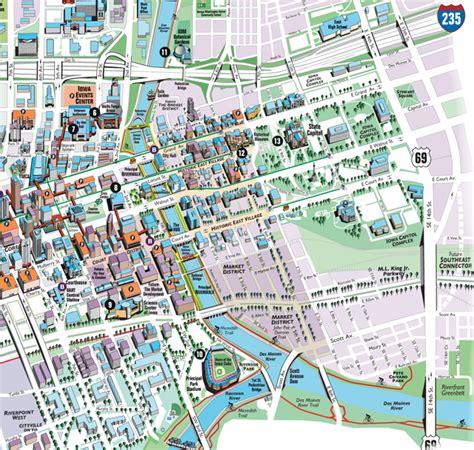 map of des moines iowa downtown des moines map iowa cubs principal park
