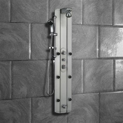 Shower Tower Systems Multi Function Shower Tower Panel Column System With Tub