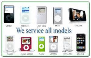 All Models Of With Pictures Ipod Repair Las Vegas Call 702 388 4349