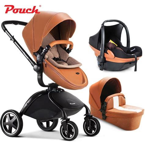 orange and black infant car seat 2017 pouch baby stroller 3 in 1 baby stroller leather