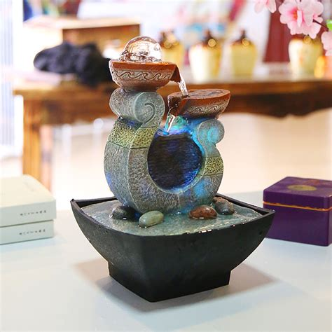 crafts for home decoration water fountain decoration crafts resin crafts home decor