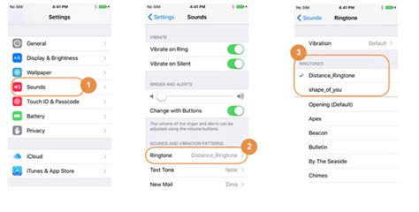 chagne iphone how to change default ringtones on iphone x 8 7 6s 6