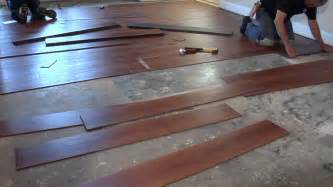 installing no gap floating vinyl plank flooring over concrete for small living room spaces ideas