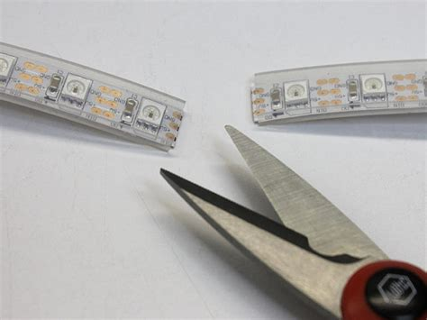 can you cut led light strips led dreads neopixel cyber falls wig adafruit