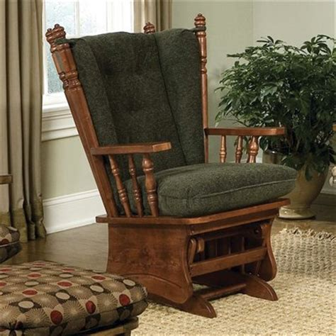 wingback rocking chair cushions woodworking diy project