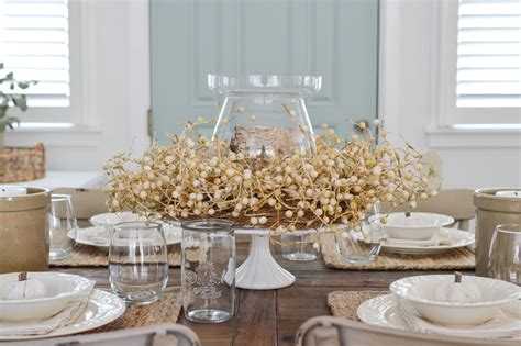 fall dining room table decorating ideas easy summer to fall dining room refresh fox hollow cottage