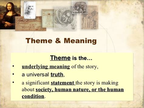 themes in literature review literary theme review