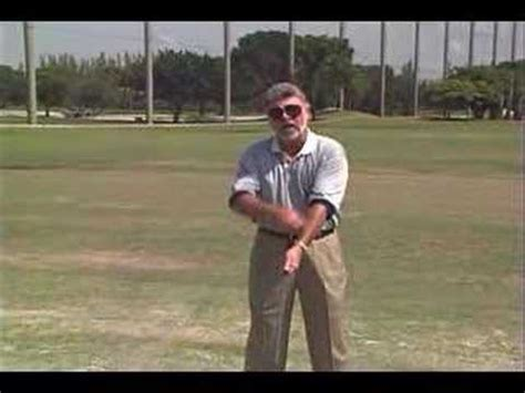 ballard golf swing golf tip role of left arm in swing jim ballard youtube