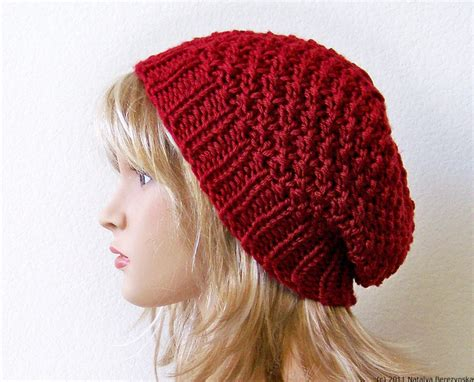 knit hats for valentines hat valentines gift for knit hat slouchy beanie