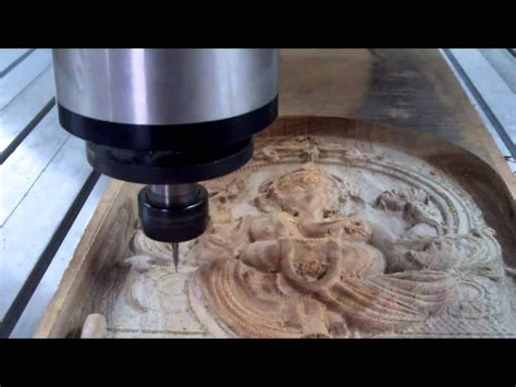 high speed cnc wood carving  lord ganesh gs india