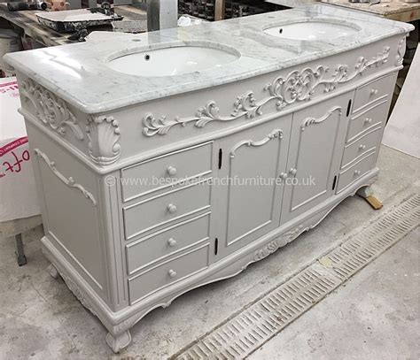 Bespoke Bowl Sink Vanity Unit With Solid Marble Top