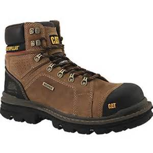 rogan shoes caterpillar footwear hauler steel toe work boots mens
