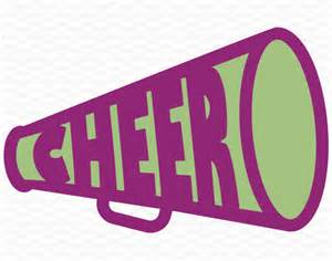 Cheer Megaphone Template by Cheer Megaphone Design Cheerleading Svg Dxf Eps For Use